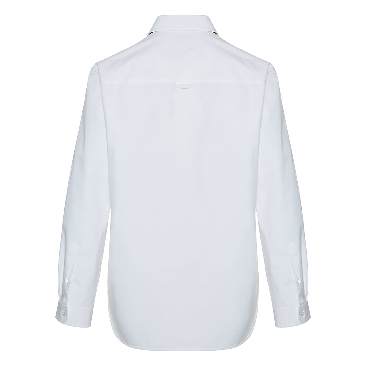 Valentino label poplin shirt