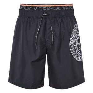 Medusa logo swim shorts