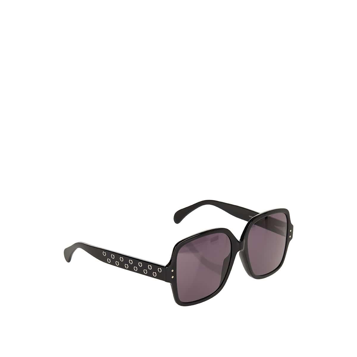 Studded oversized sunglasses