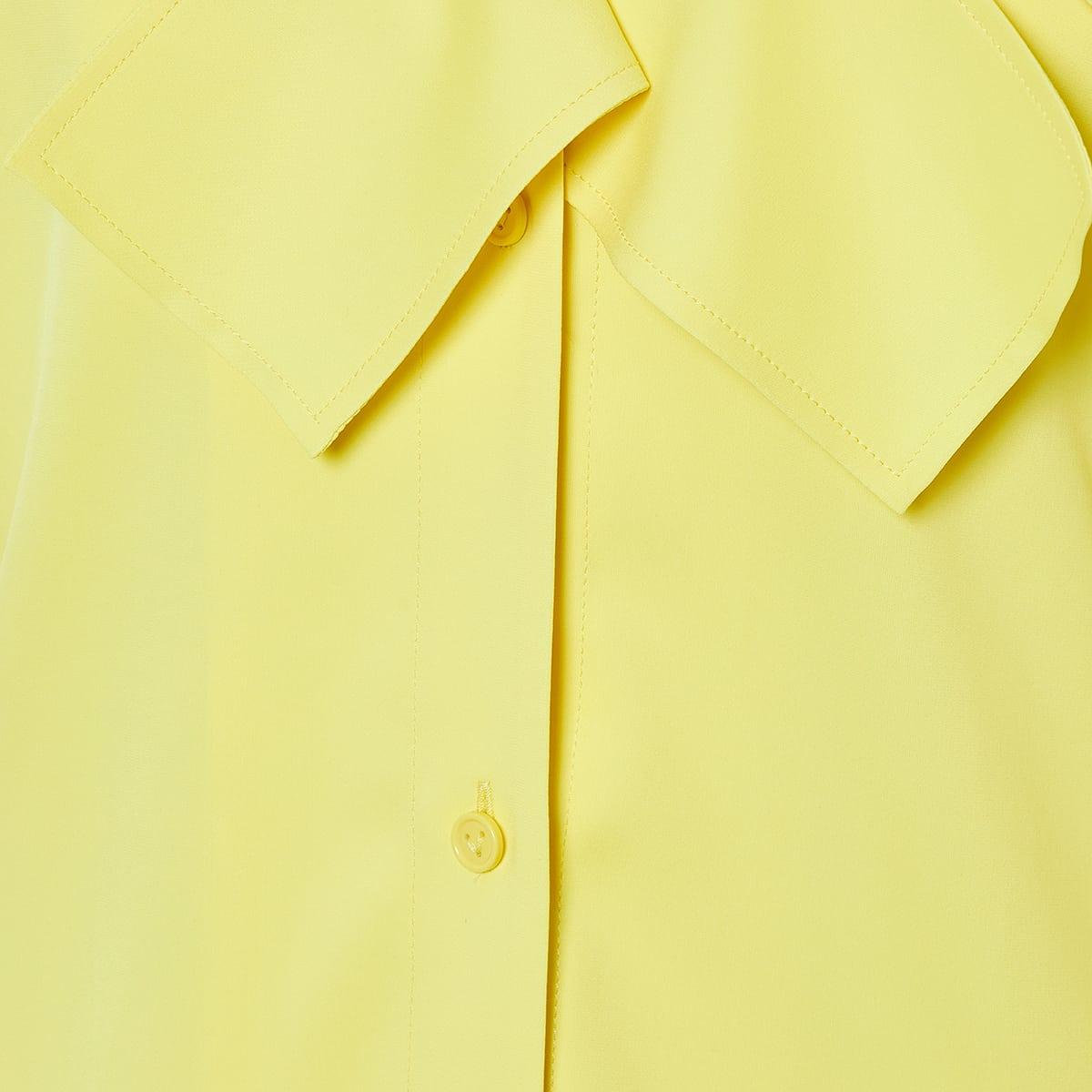 Fringe-paneled shirt