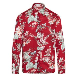 Floral cotton shirt