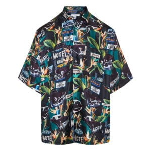 Givenchy Motel printed silk shirt