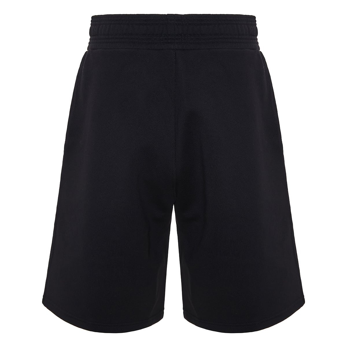 Logo patch track shorts
