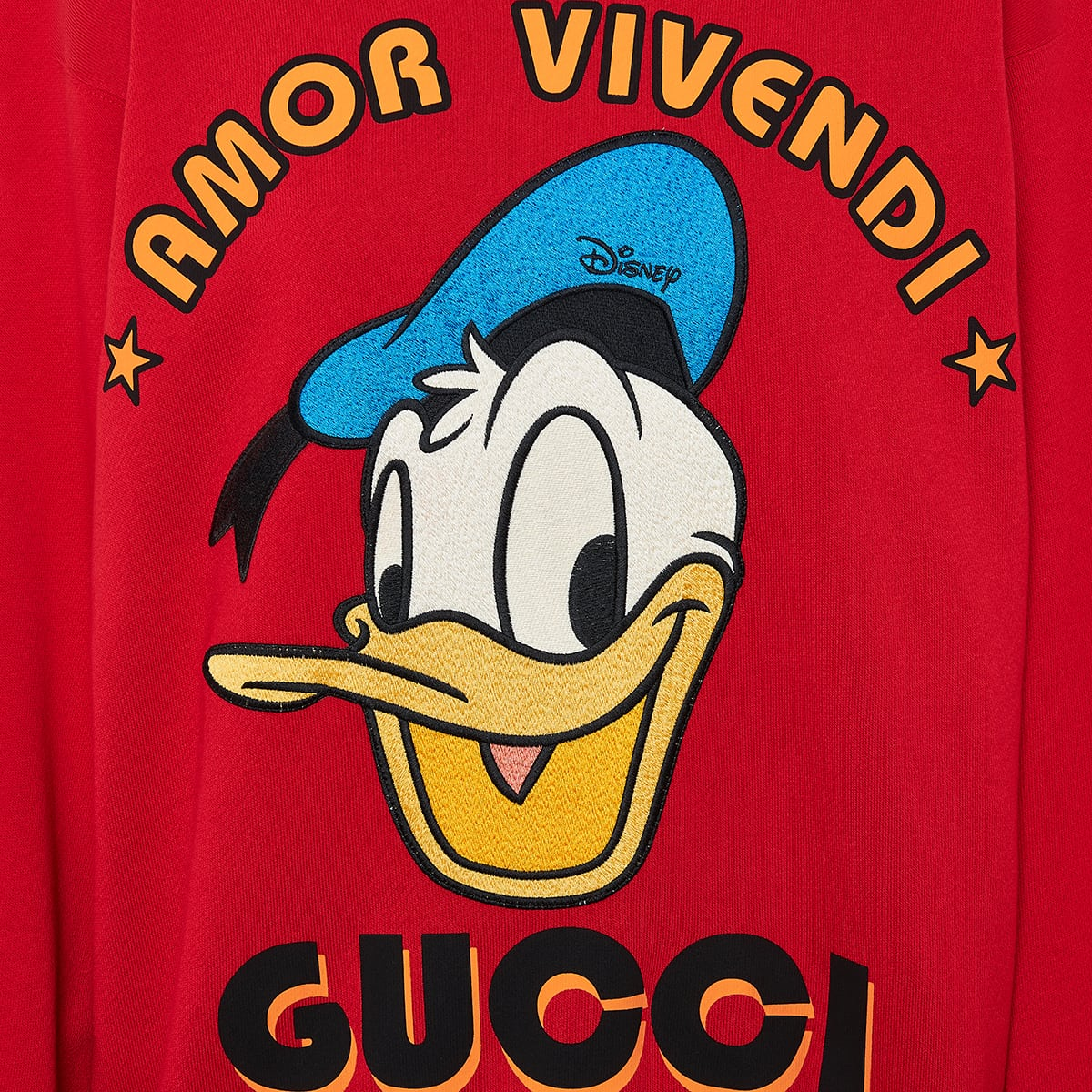 Disney x Gucci Donald Duck sweatshirt