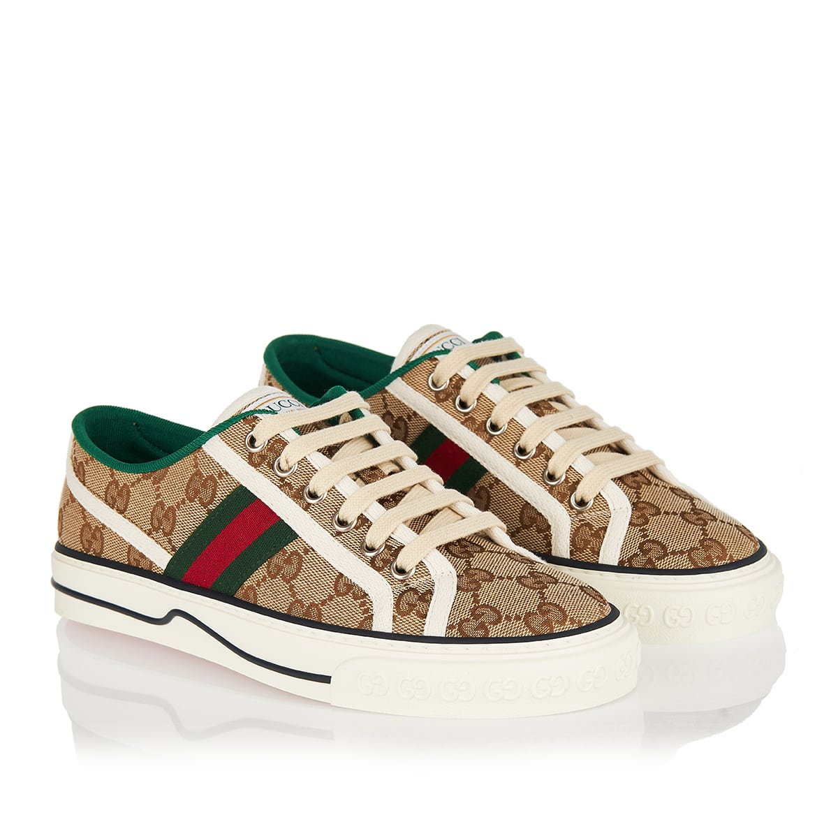 Tennis 1977 GG canvas sneakers