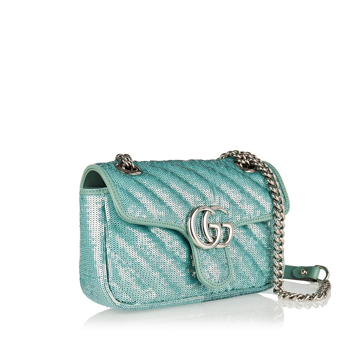 GG Marmont Mini sequin shoulder bag