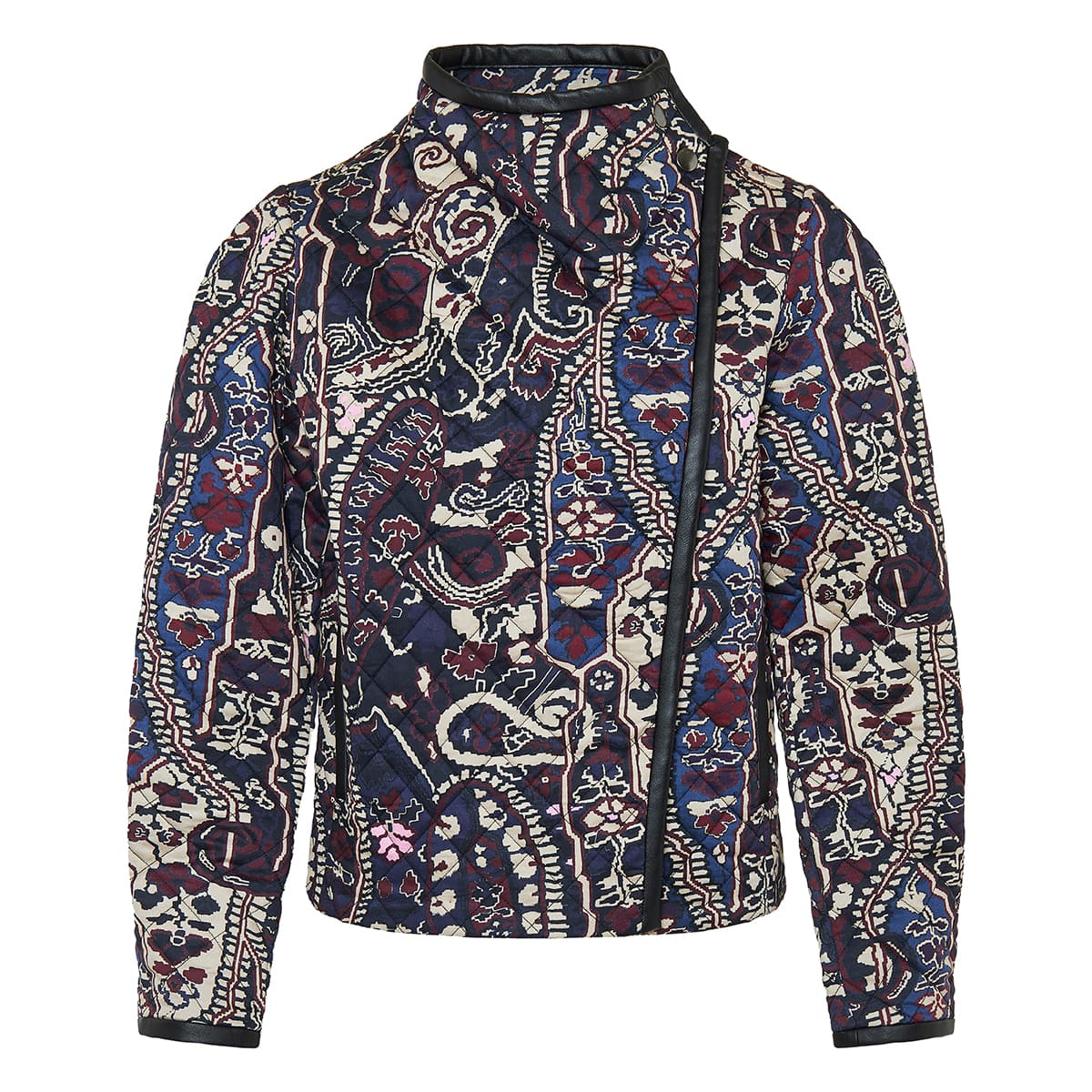 Jenolia printed quilted jacket