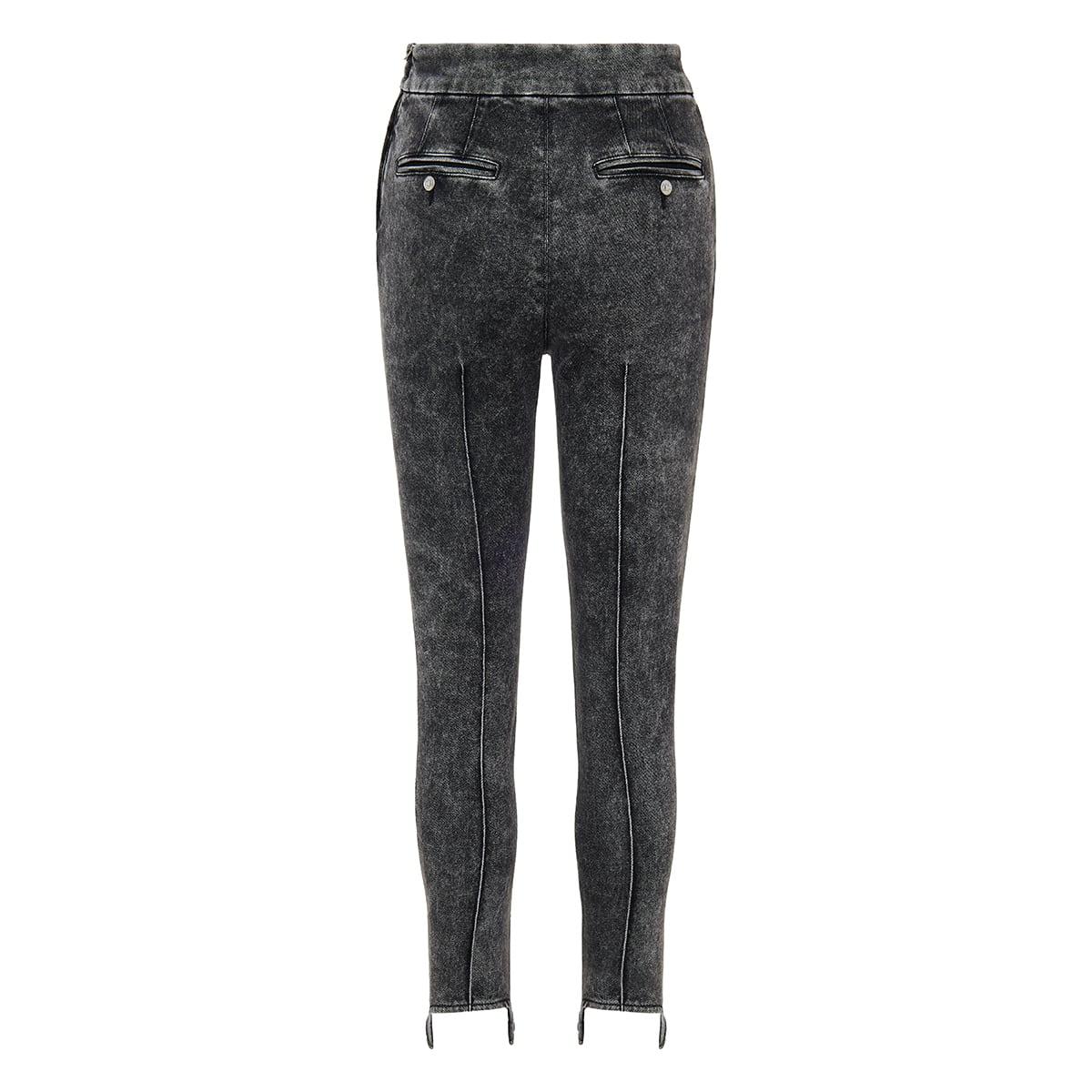 Stirrup skinny jeans