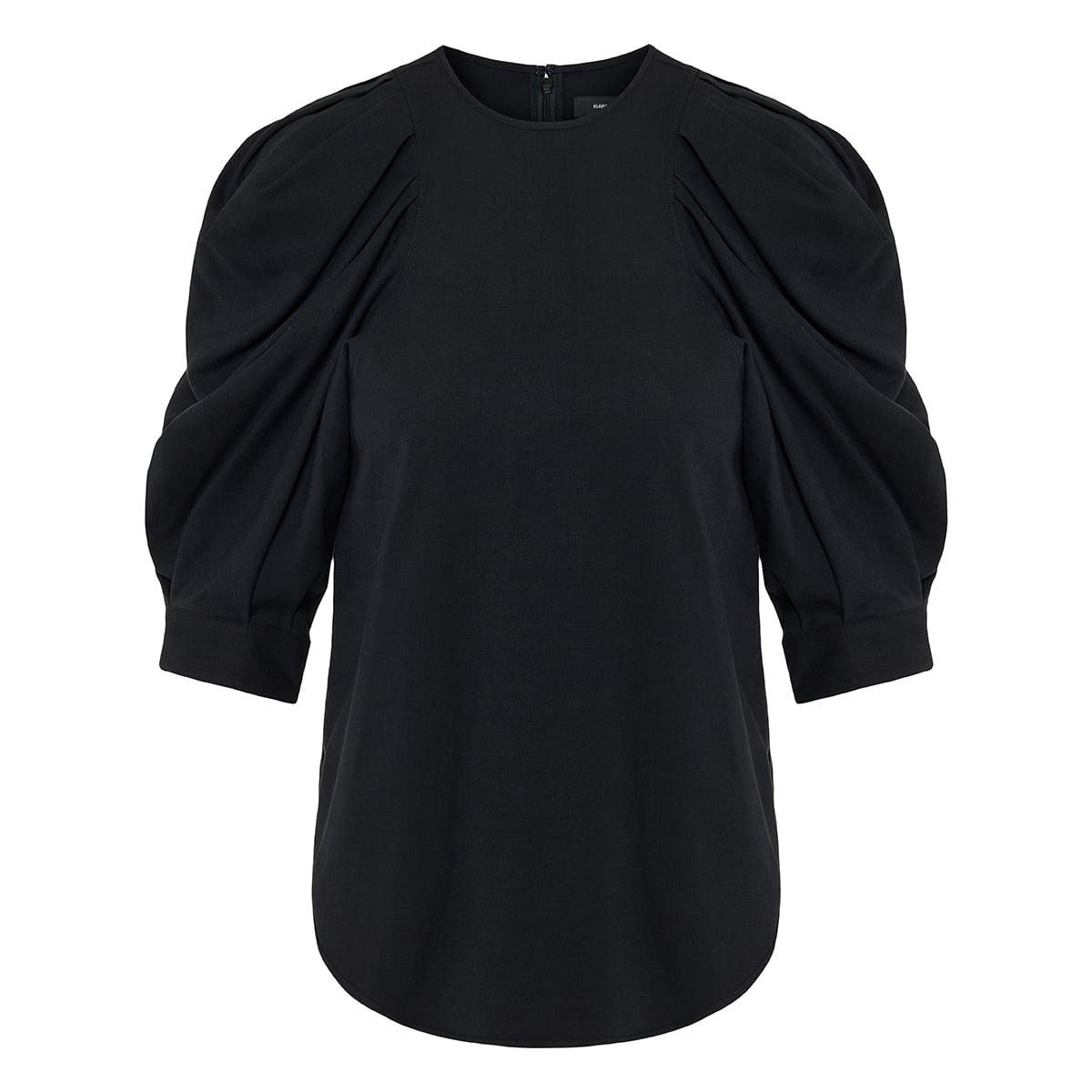 Surya puff-sleeved blouse