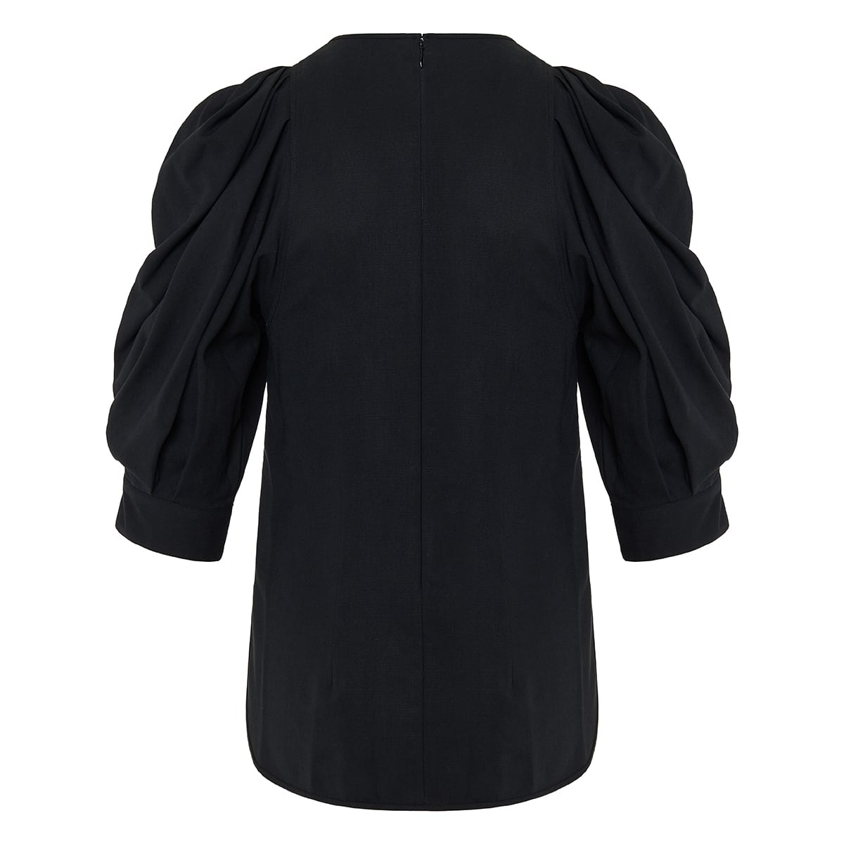 Surya puff-sleeved blouse