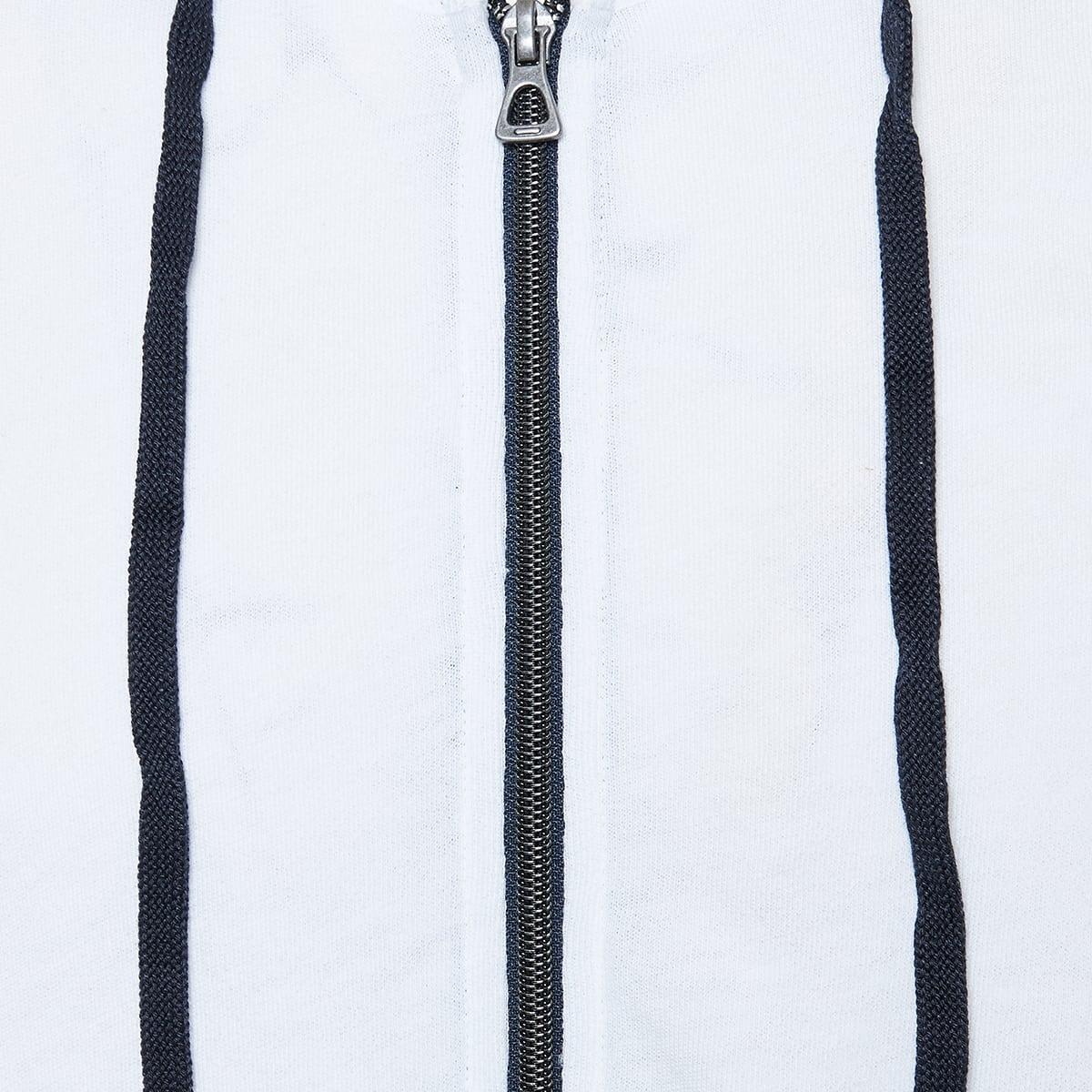 Cotton zipper hoodie