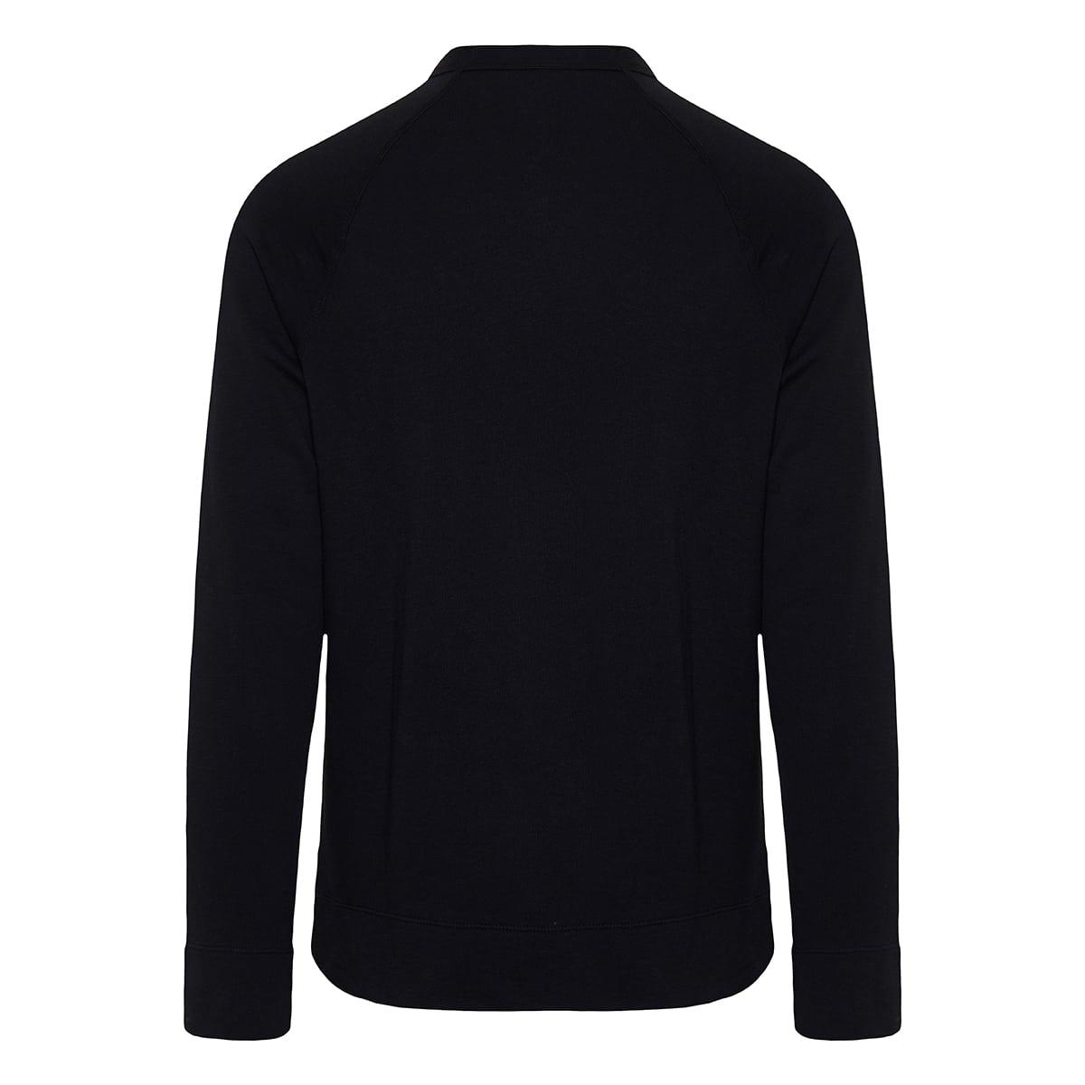 Cotton fleece sweatshirt