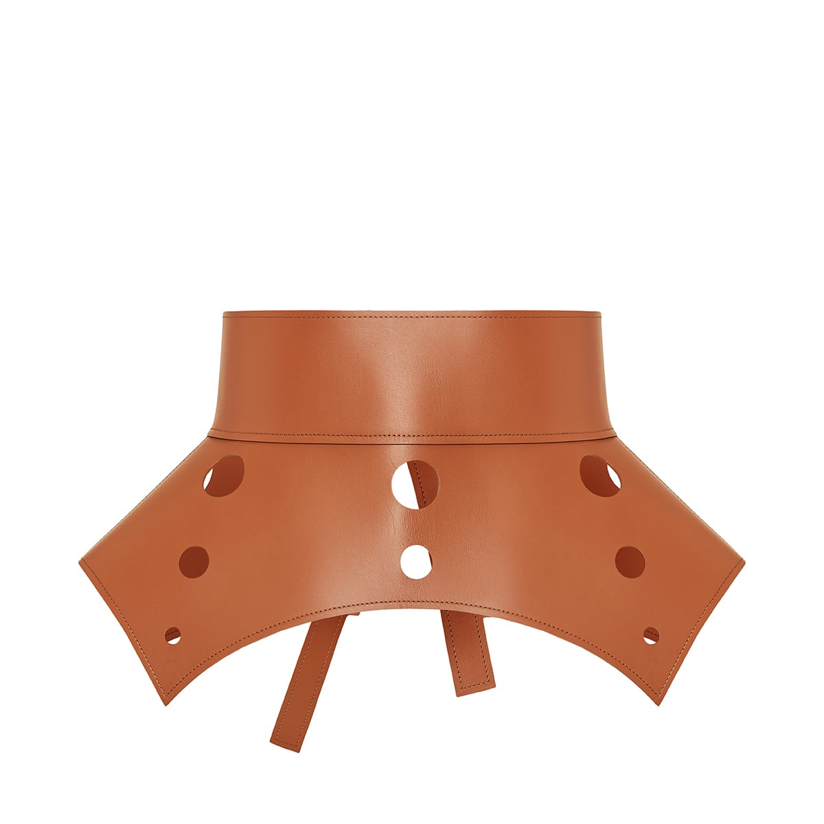 Obi leather corset belt