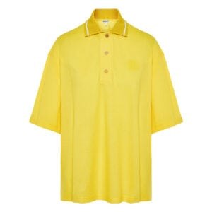 Oversized Anagram polo shirt