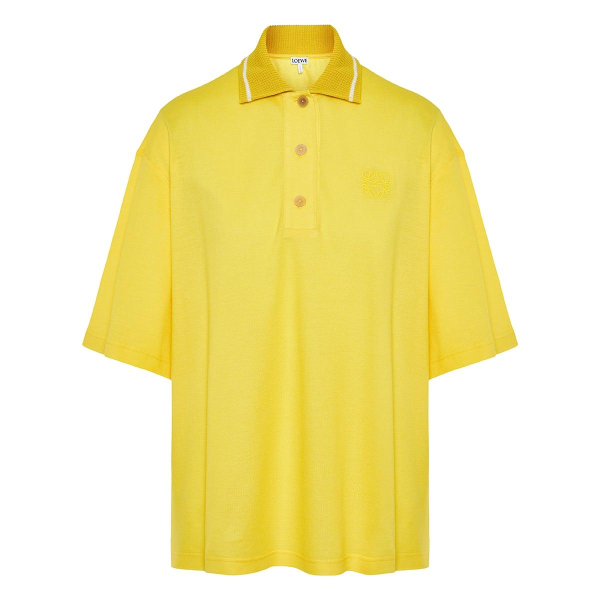 Oversized Anagram polo shirt