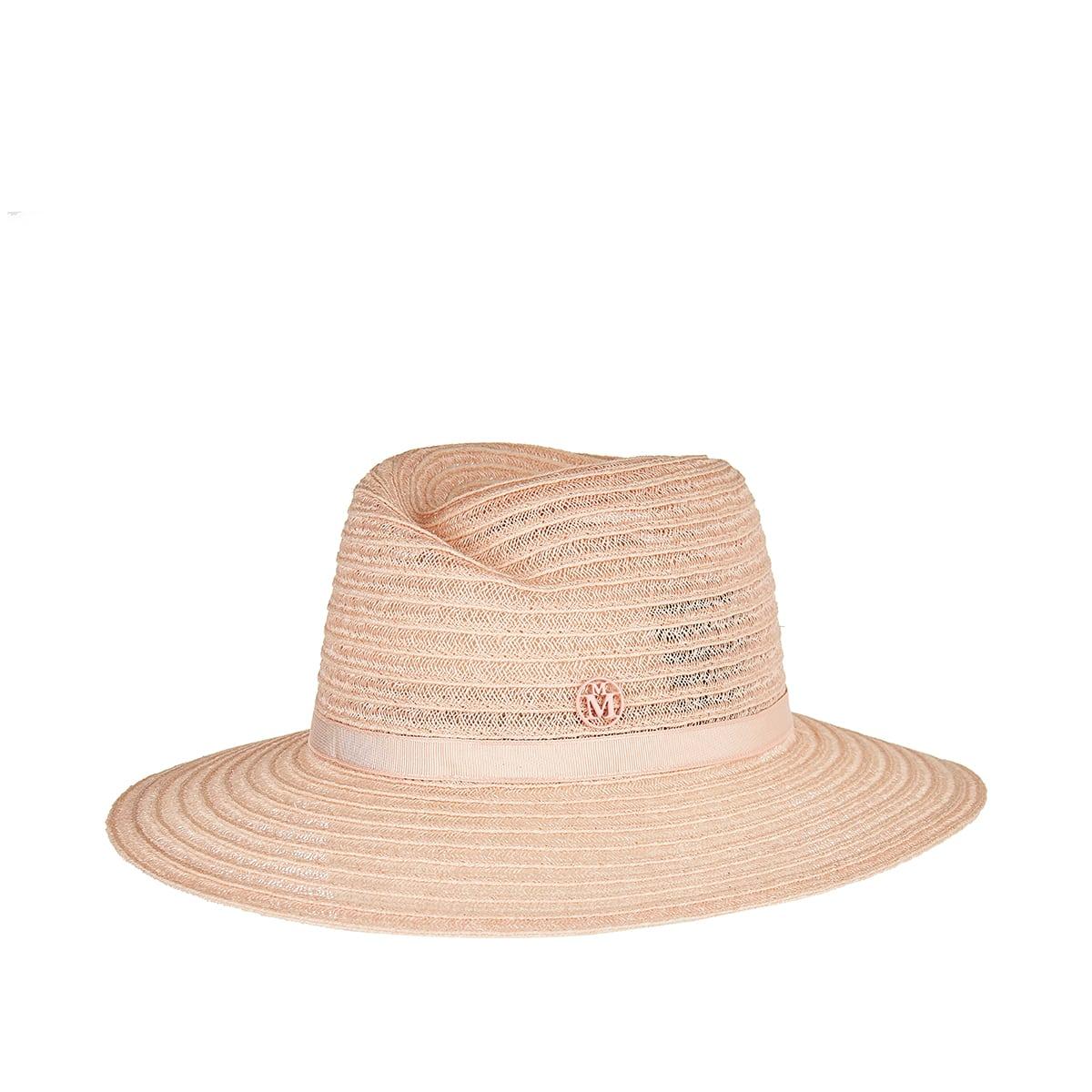 Virginie woven fedora hat