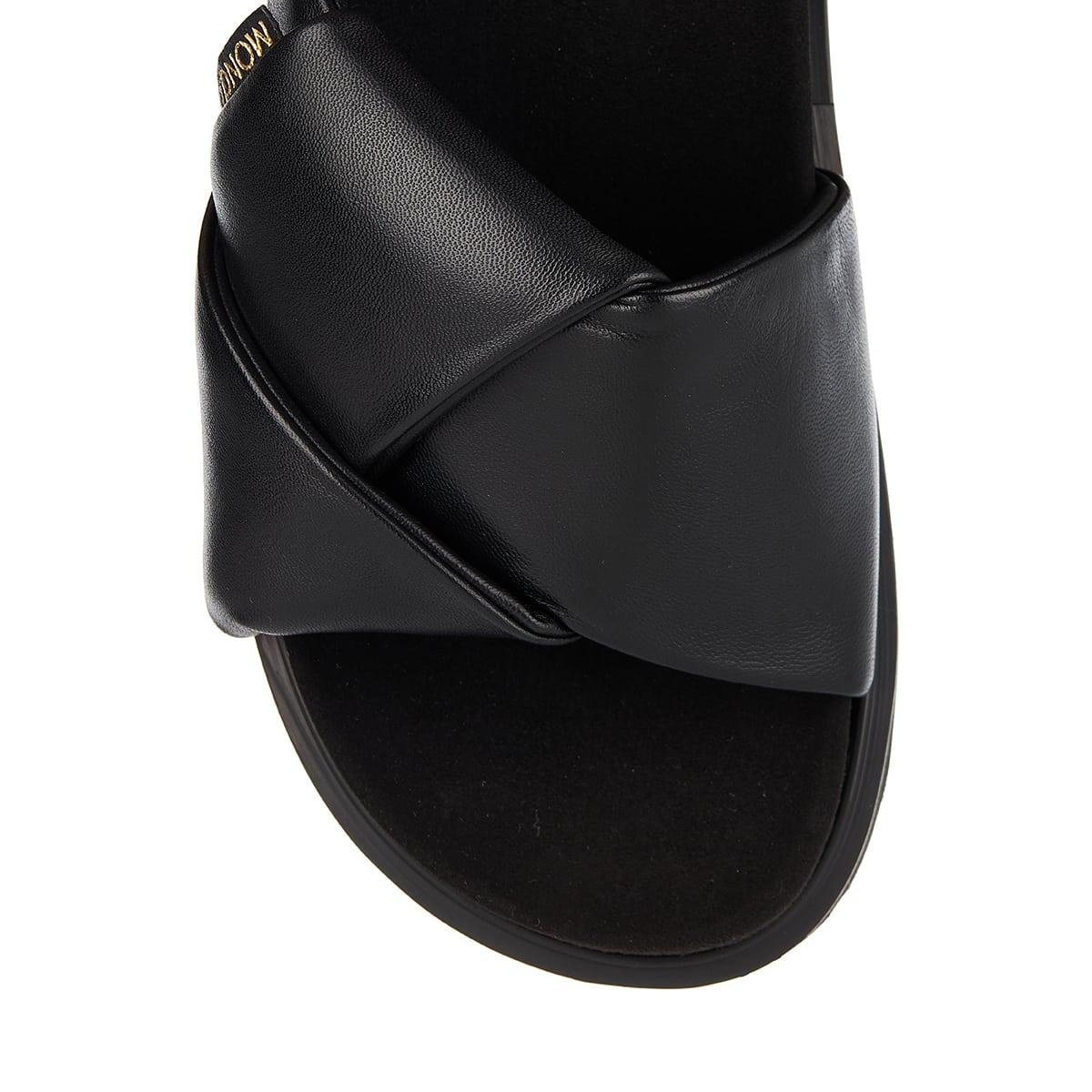 Fantine leather slides