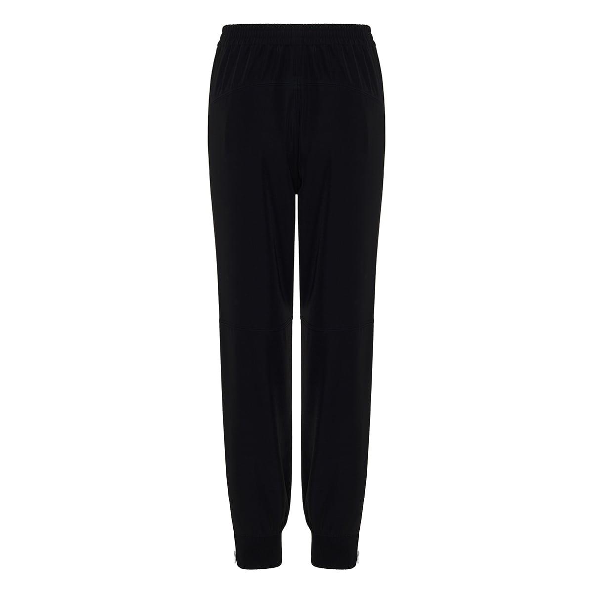 Nylon jogger trousers