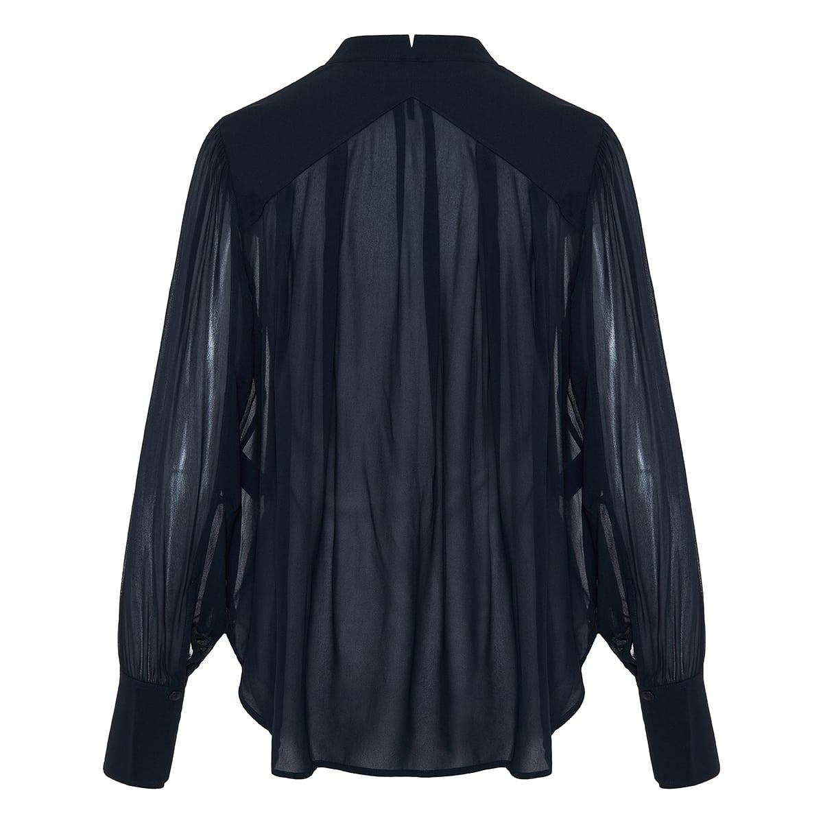 Carly sheer viscose blouse
