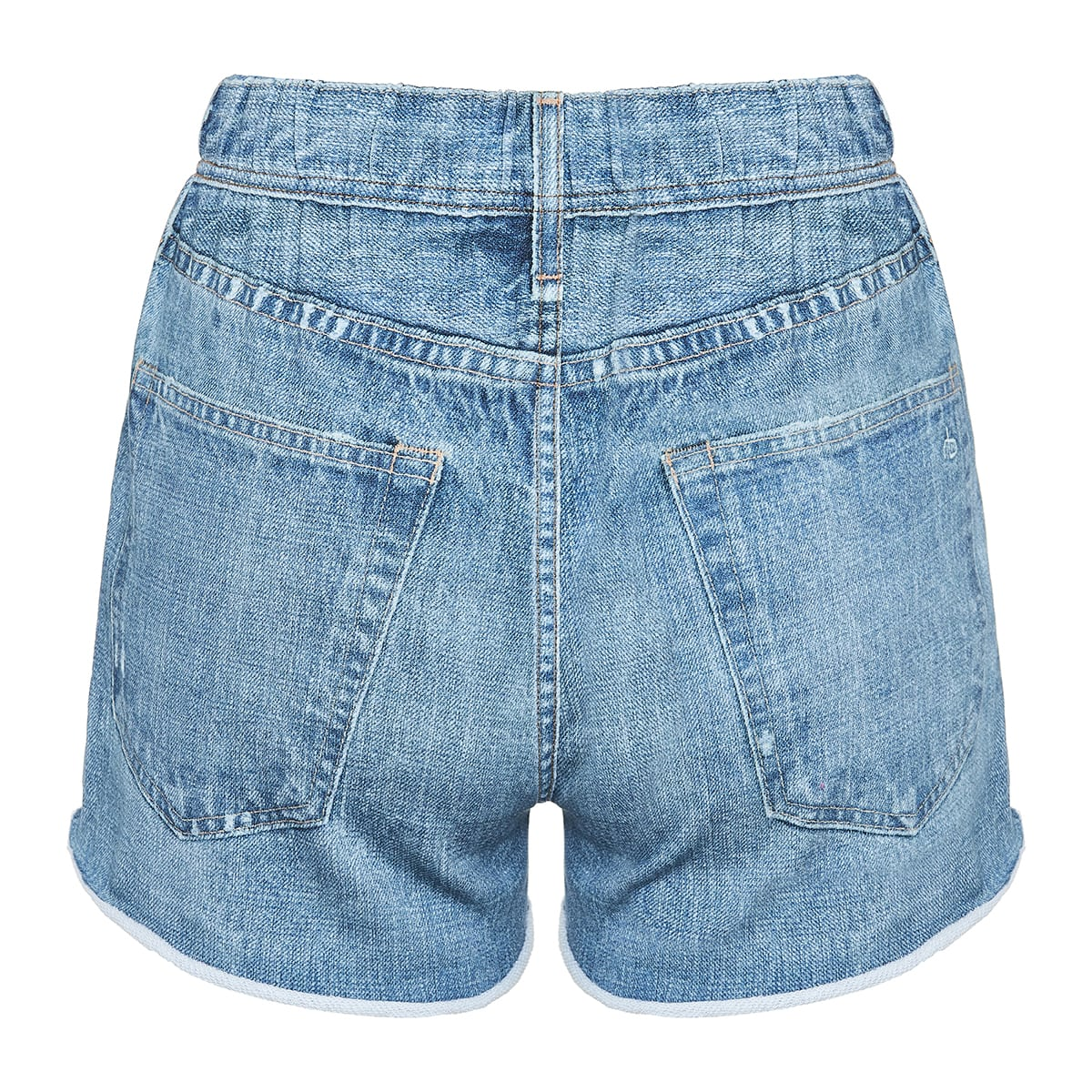 Miramar denim-effect track shorts