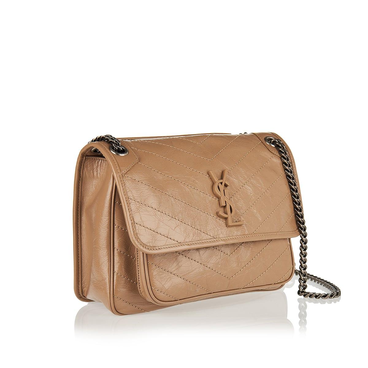 Niki medium leather shoulder bag