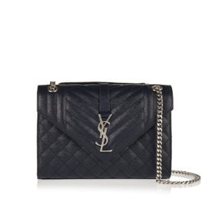 Envelope medium quilted chain bag