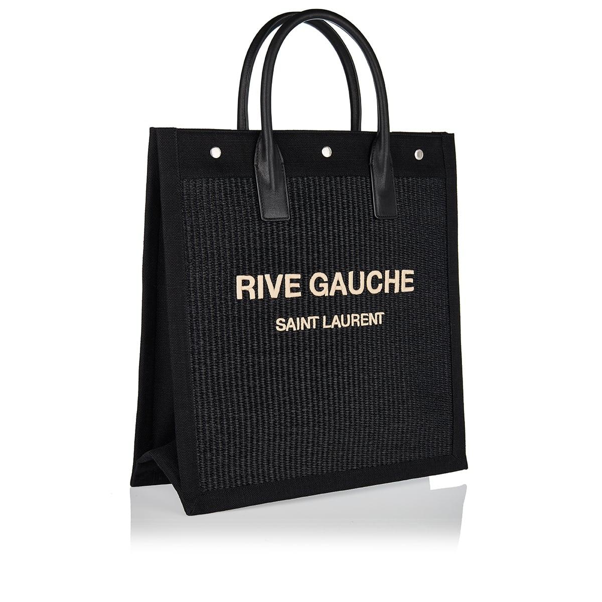 Rive Gauche woven tote