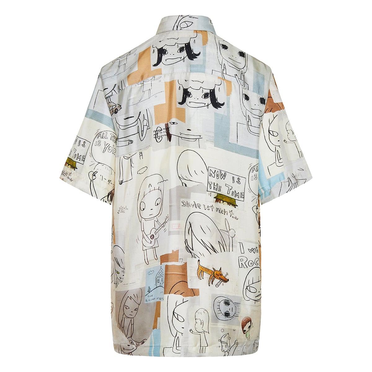 x Yoshitomo Nara Ricky printed shirt