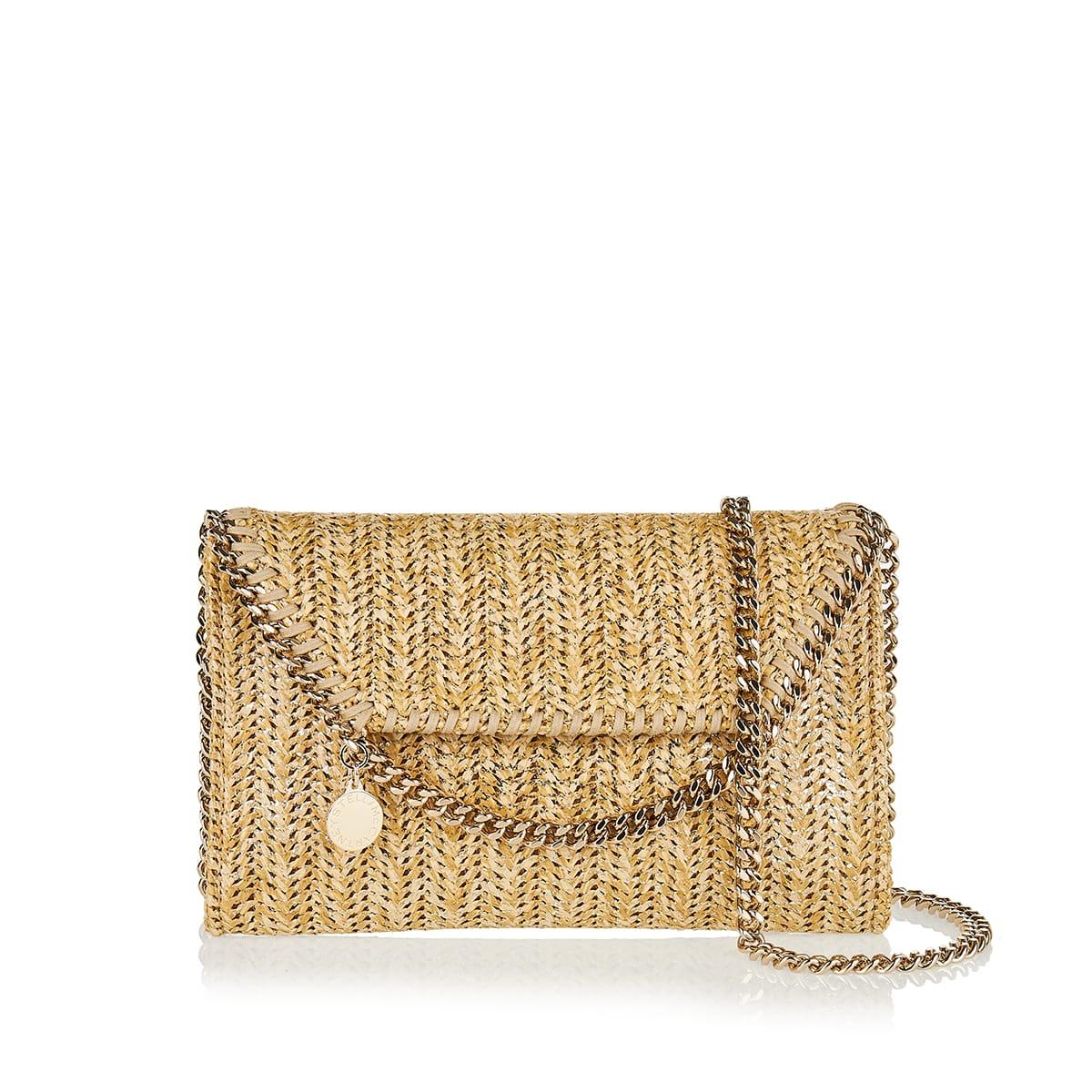 Falabella Mini woven shoulder bag