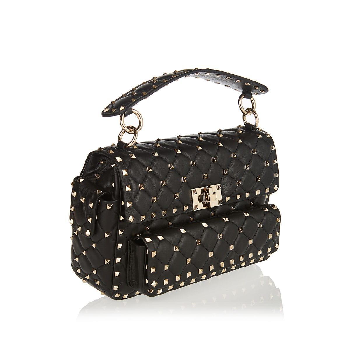 Rockstud Spike medium bag with pockets