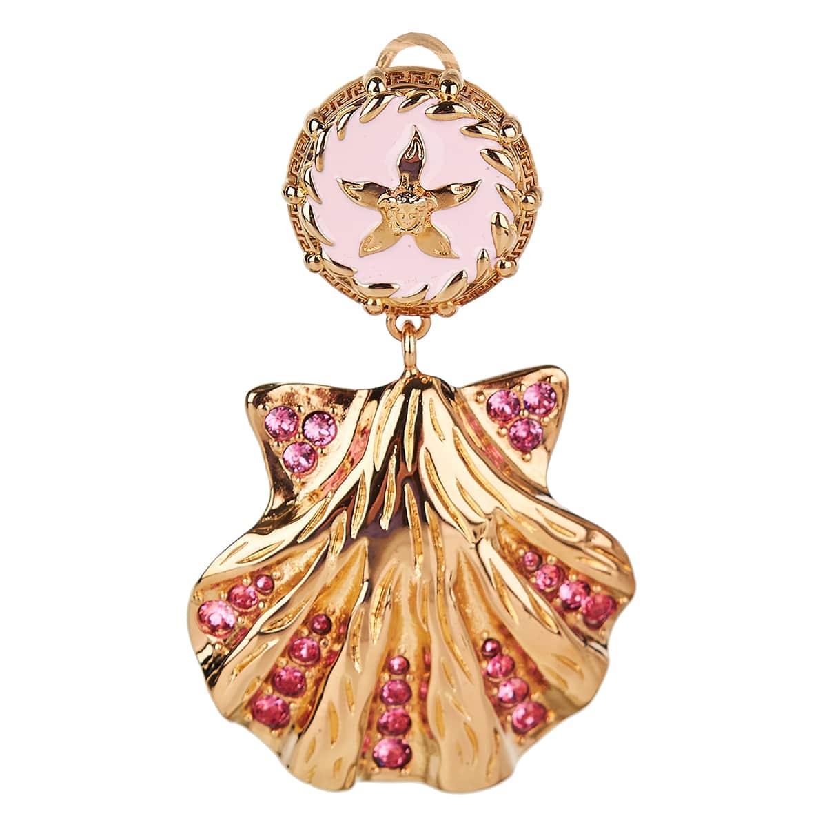 Trésor de la Mer crystal shell earrings