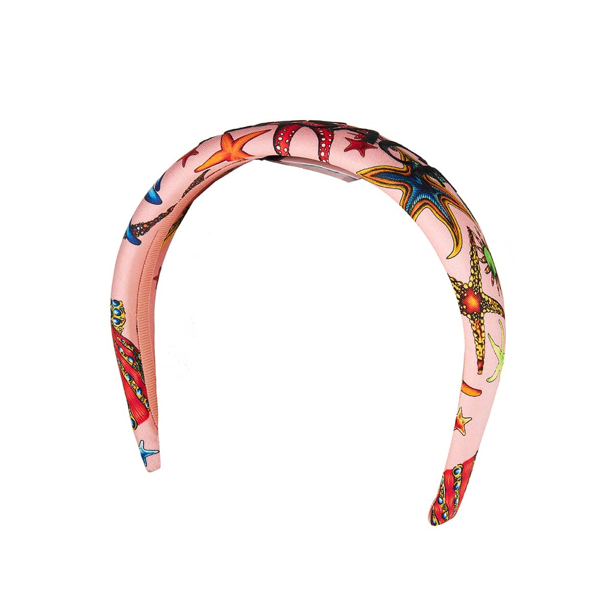 Printed logo headband