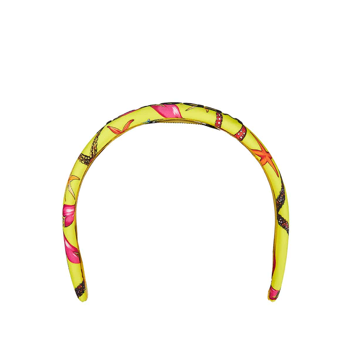 Printed logo headband