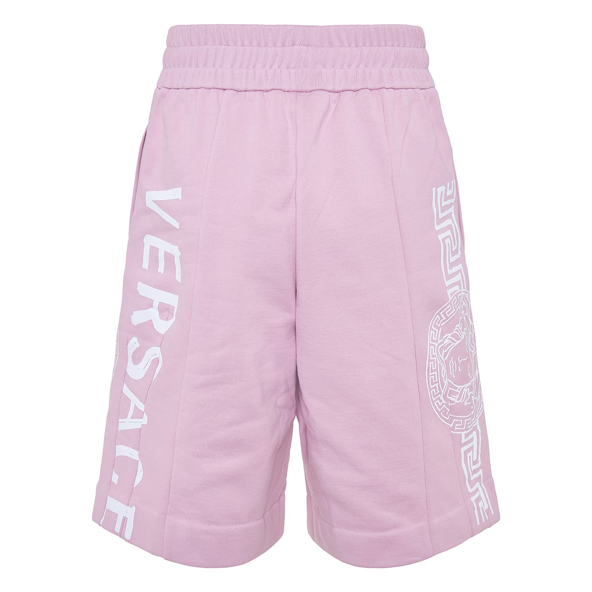 Medusa logo track shorts