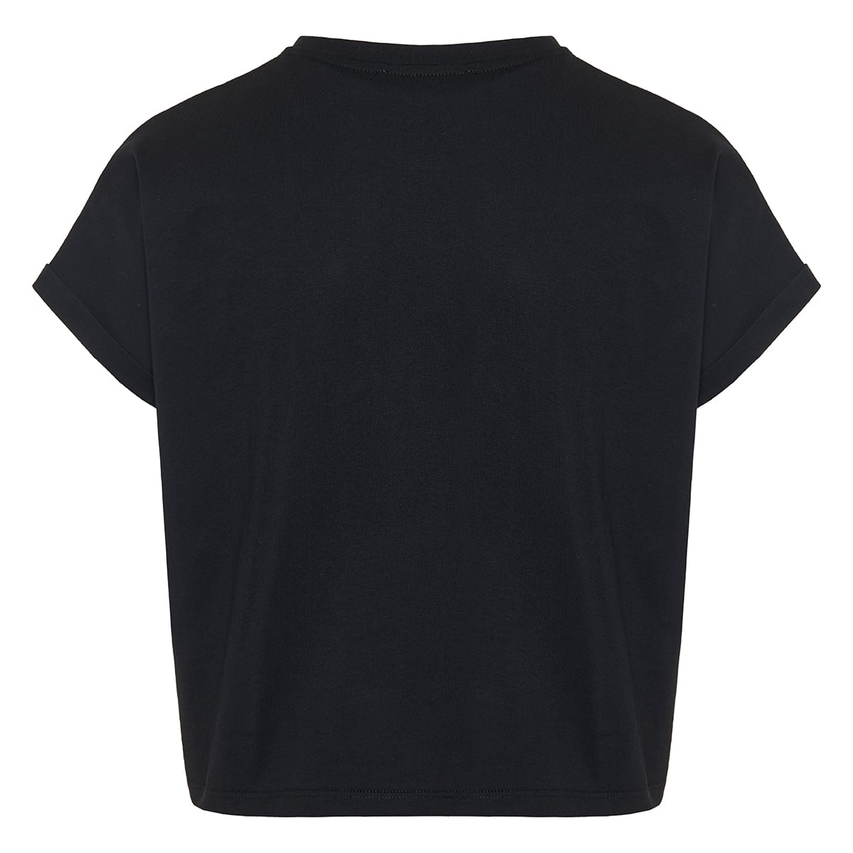 Cropped logo t-shirt