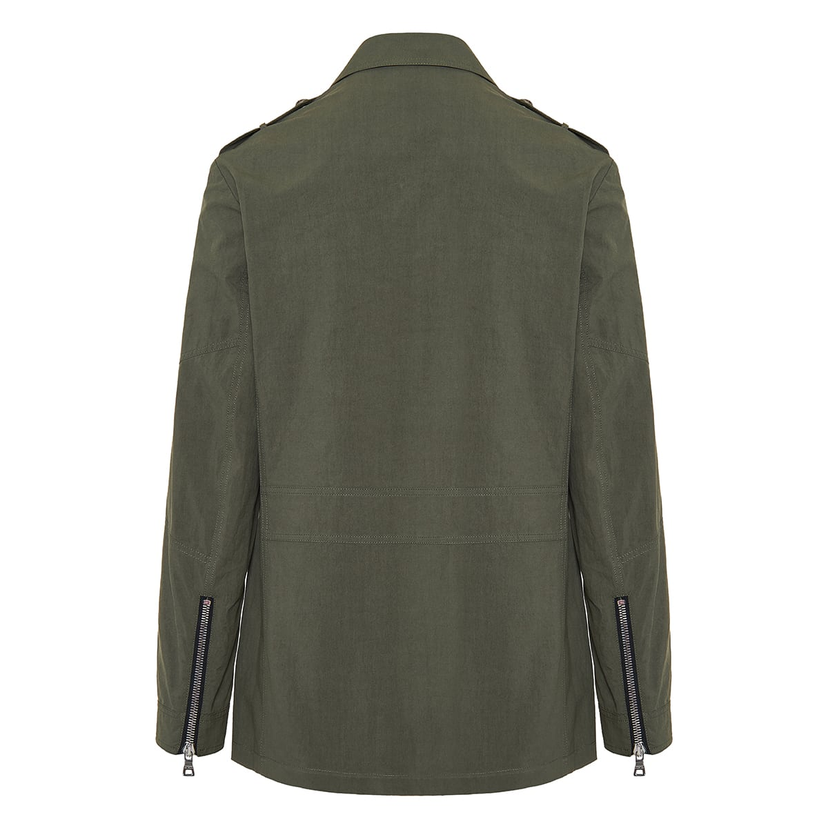 Multi-pocket cotton jacket