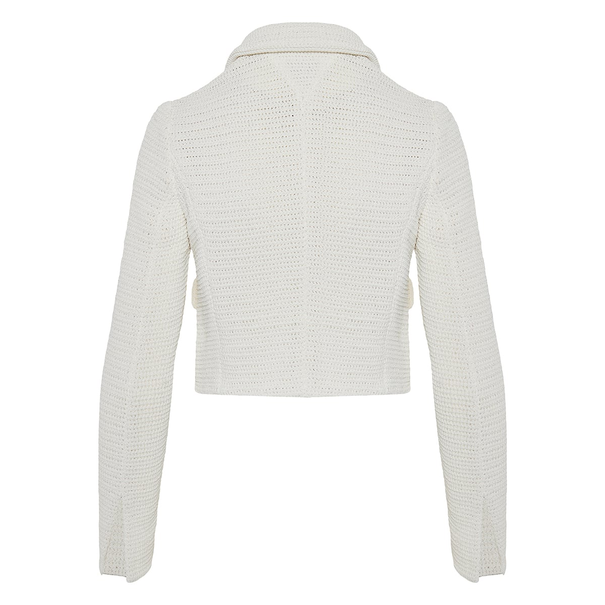Mesh knit jacket