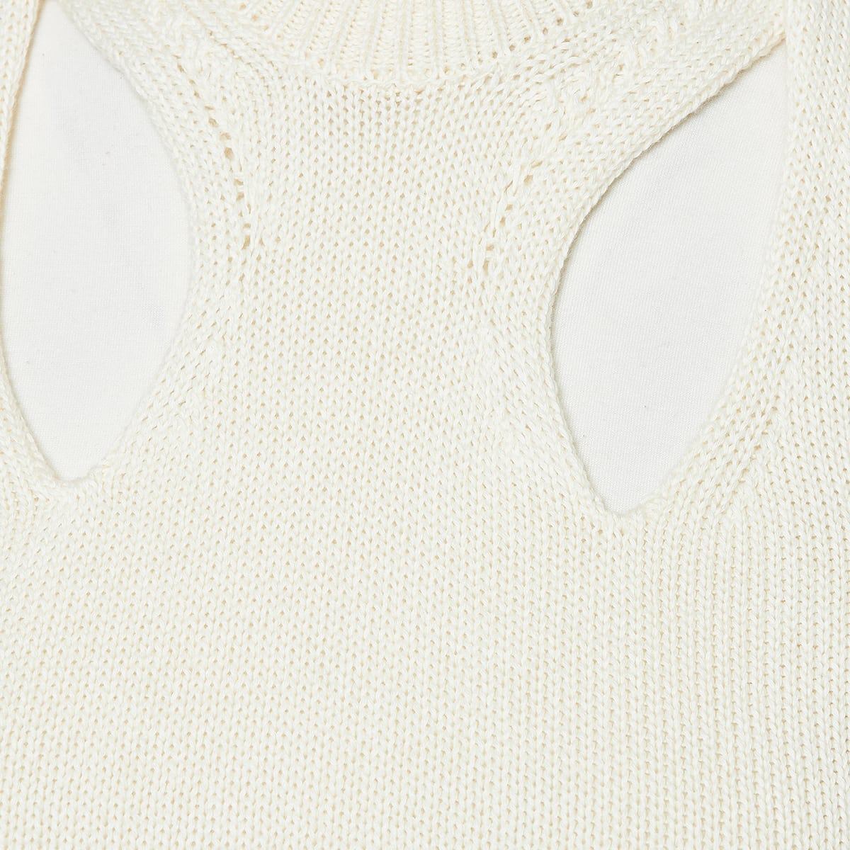Cutout knitted top