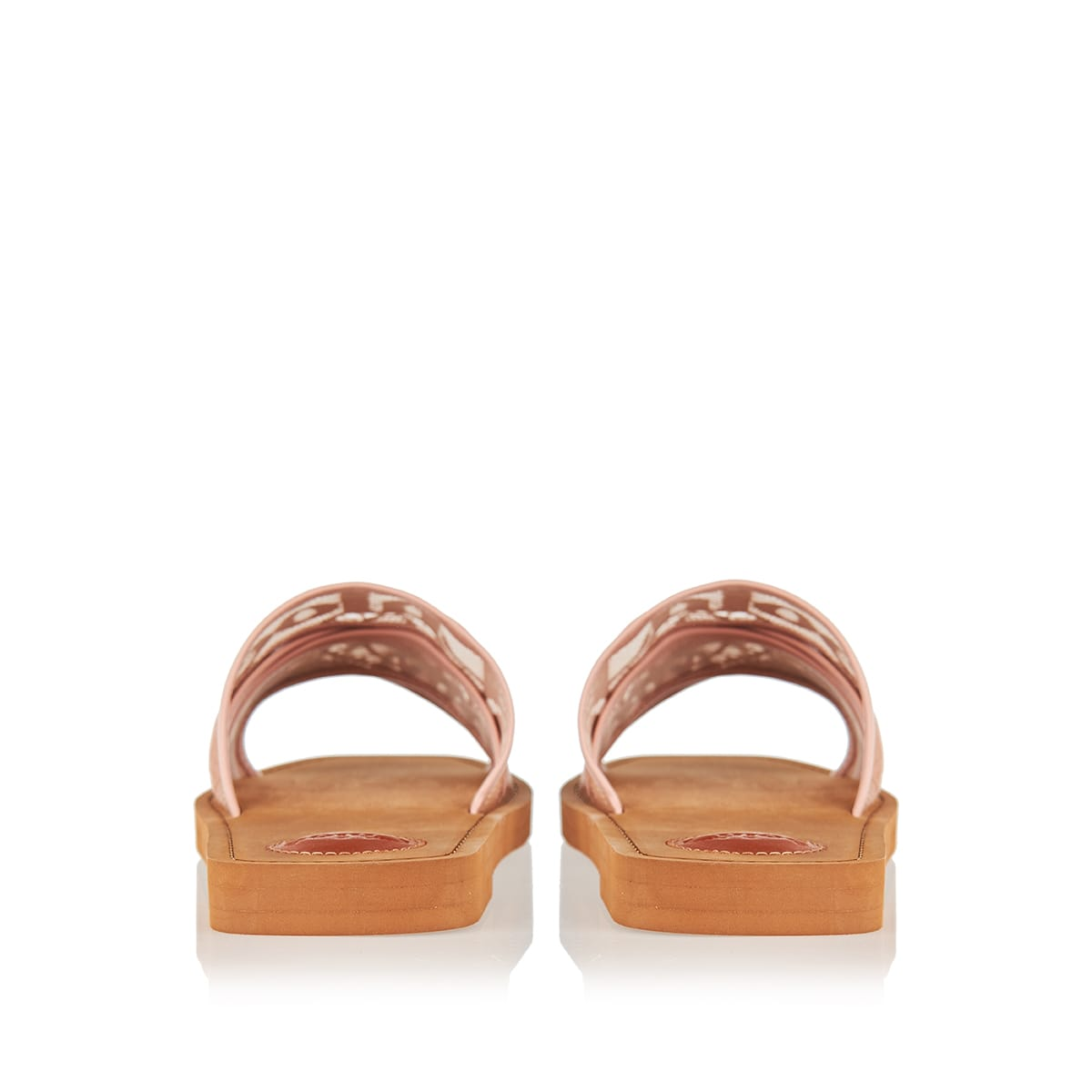 Woody logo lace sandals