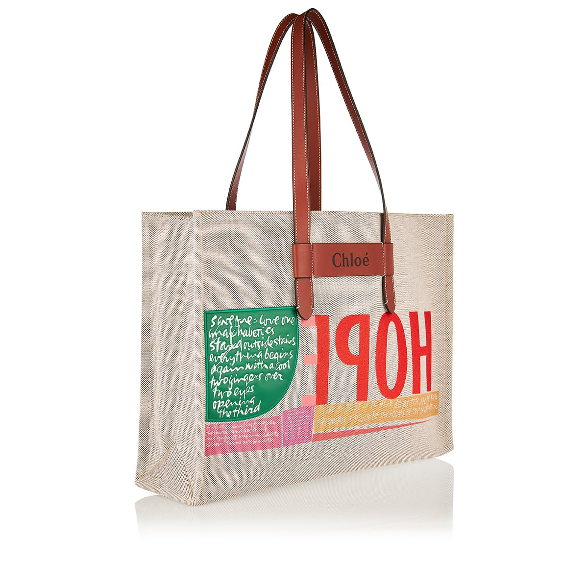 Corita Kent large canvas tote
