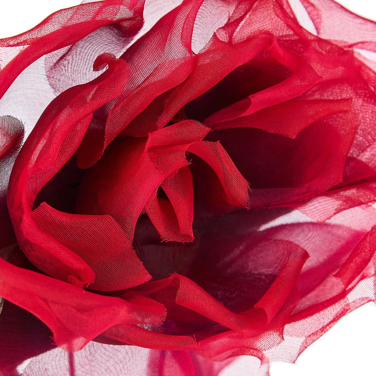 Rose-embellished headband