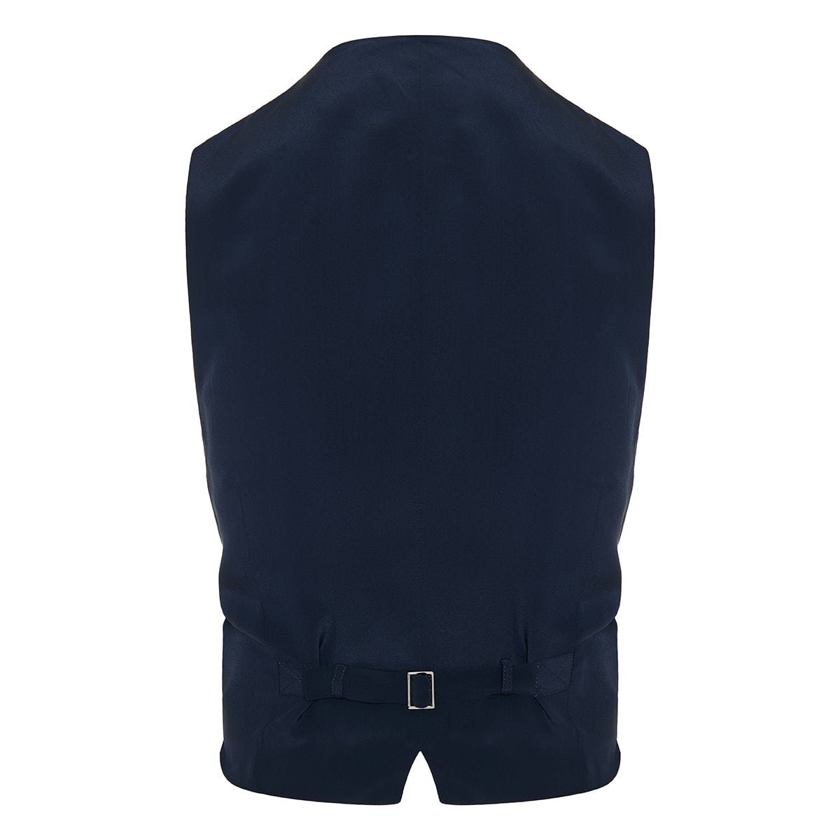 Double-breasted pinstripe vest