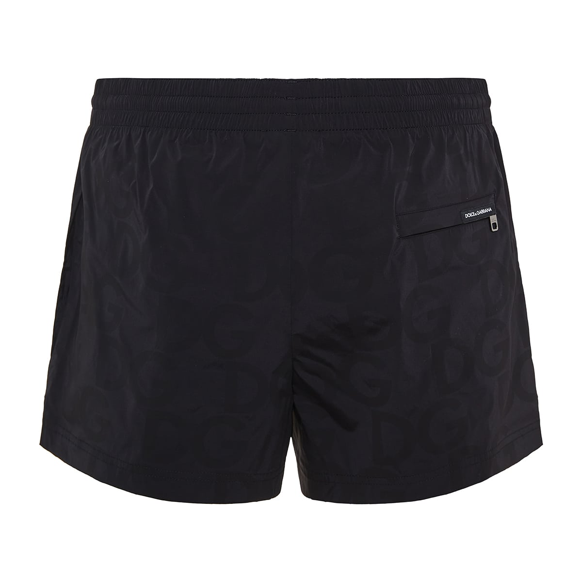 DG jacquard swim shorts