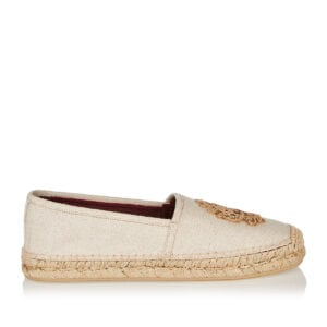 DG embroidered canvas espadrilles