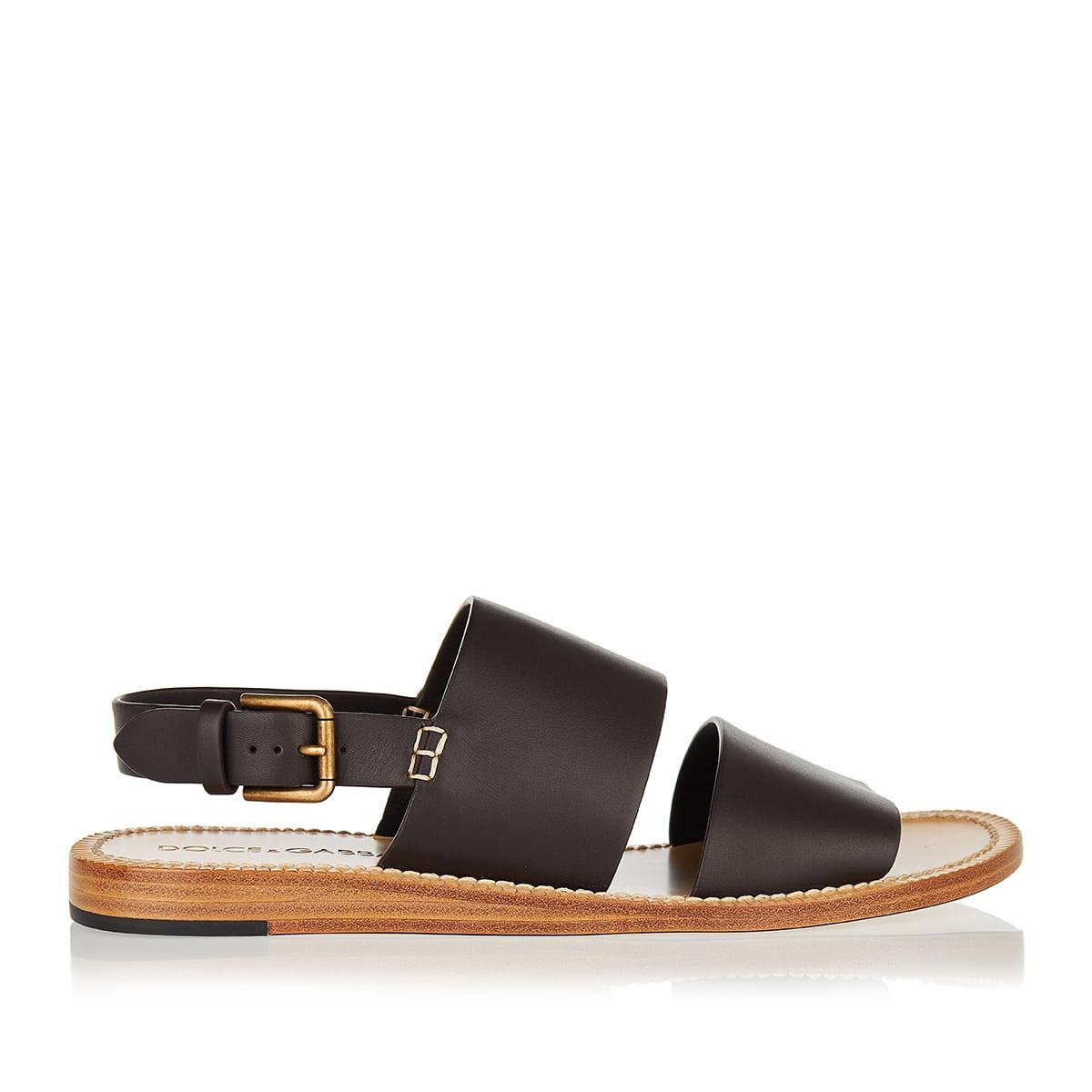 Pantheon leather sandals
