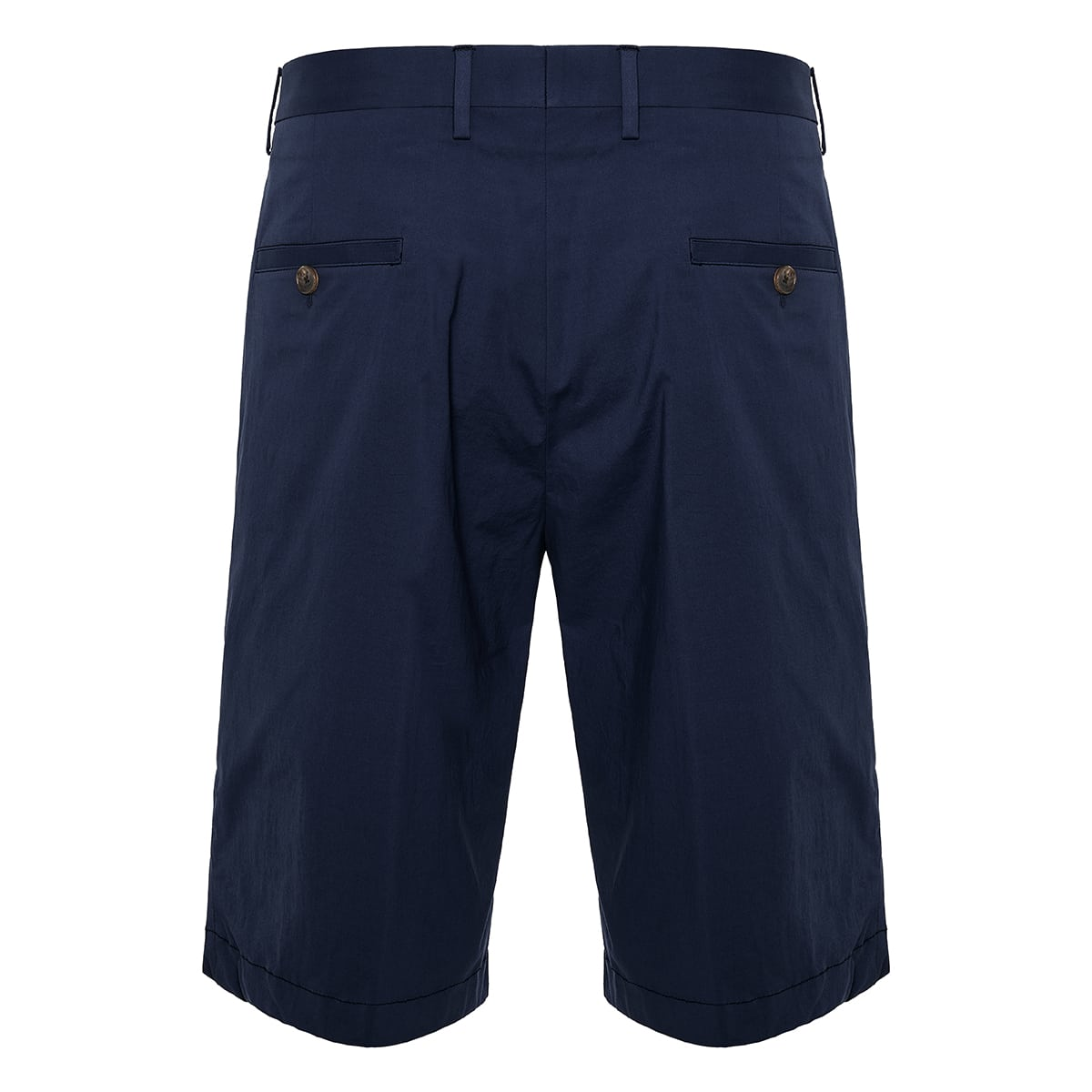 Cotton tailored shorts