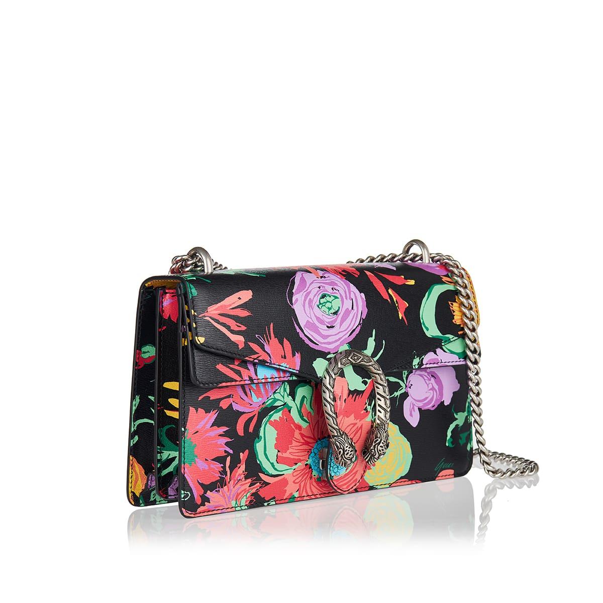 x Ken Scott Dionysus small floral bag