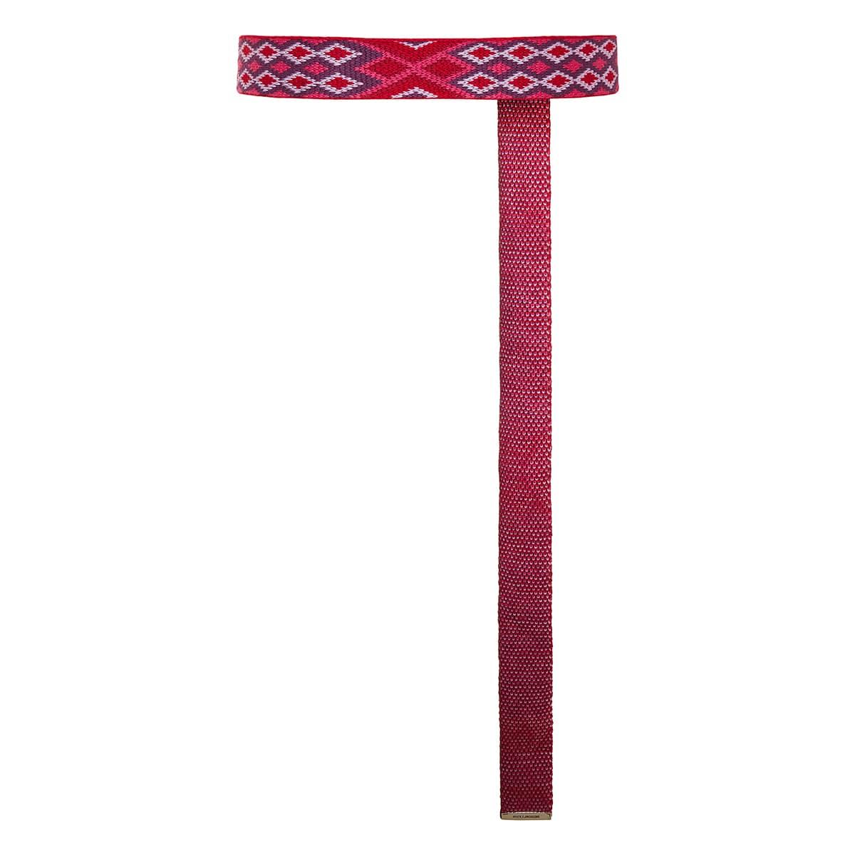 Balknit patterned belt