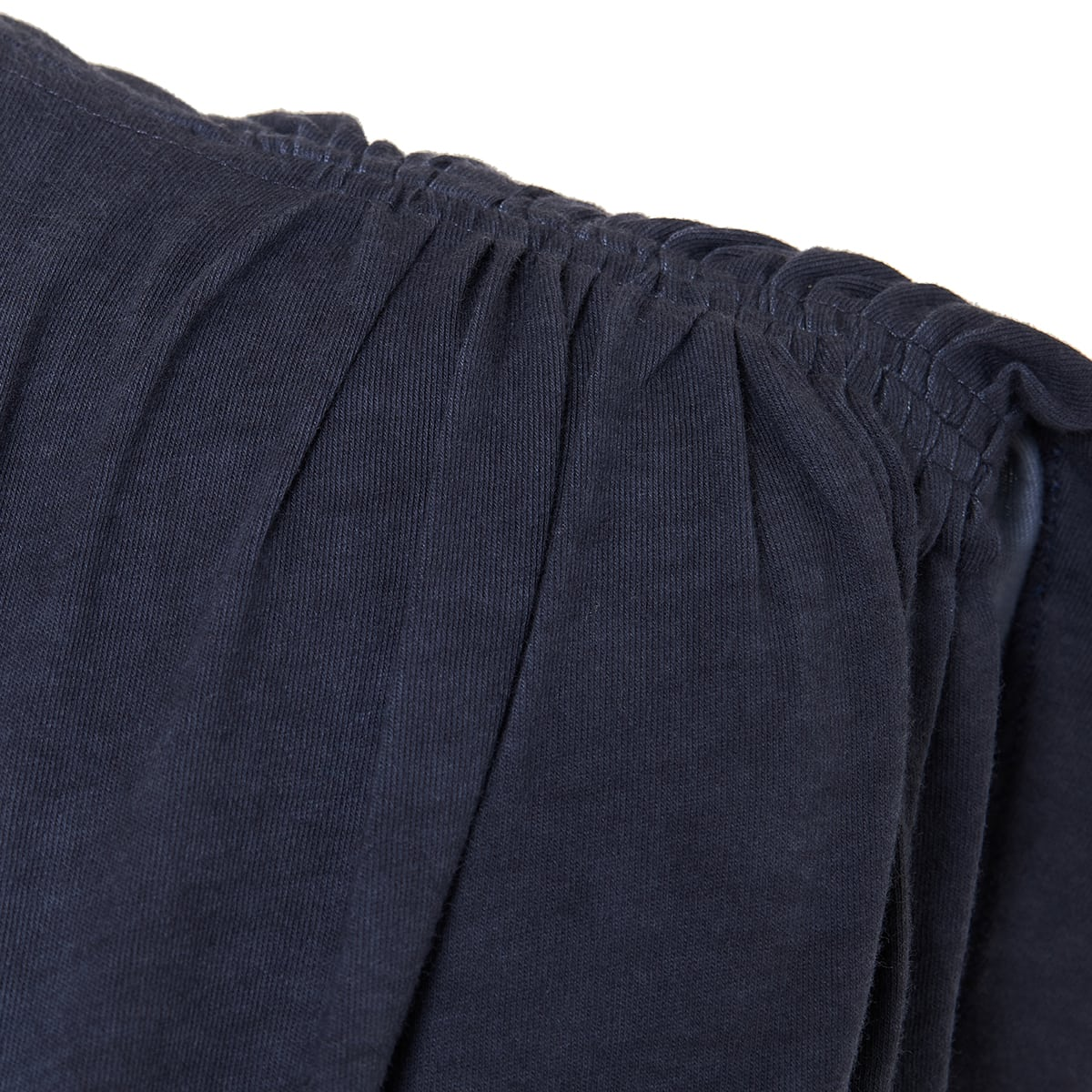 Sitian ruched cotton mini dress
