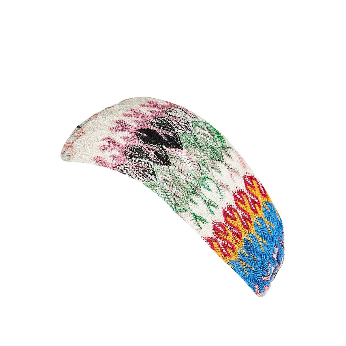 Chevron knitted headband